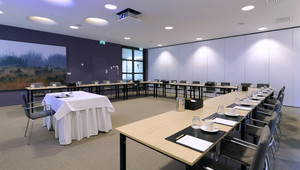 Room 7 is a business-oriented meeting facility.
