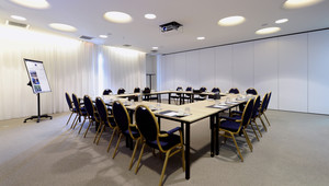 Room 9 is the perfect place for your meeting.