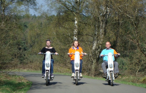 Discover the Veluwe with the Veluwe Scooter Package