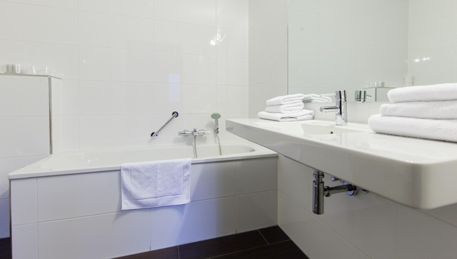 Bathroom Business Suite Hotel Arnhem